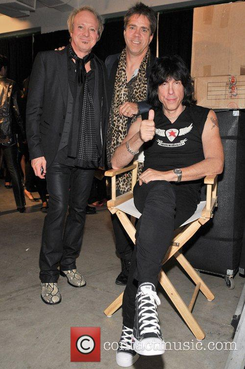 Jimmy Kunes,Andy Hilfiger,Marky Ramone Andy Hilfiger introduces rock...