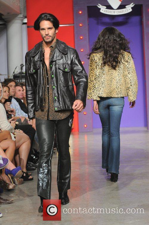 Model Andy Hilfiger introduces rock inspired clothing line...