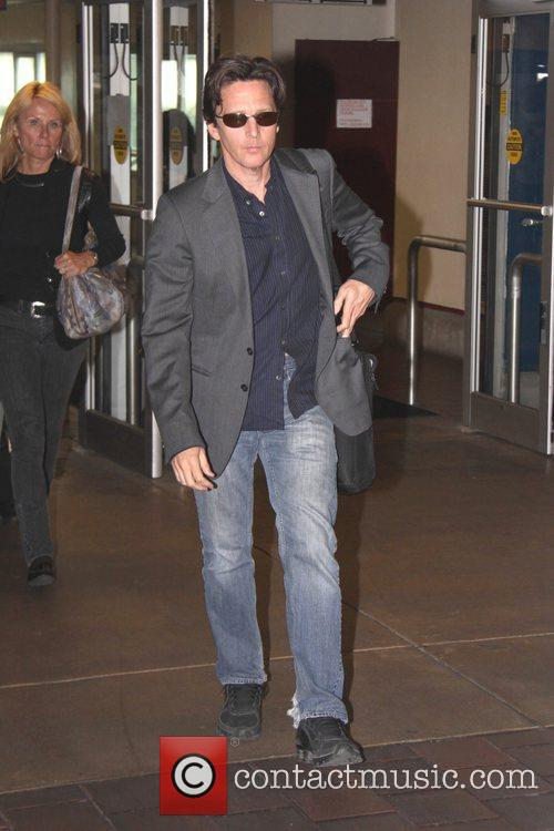 Actor Andrew McCarthy was spotted at Washington DC's...