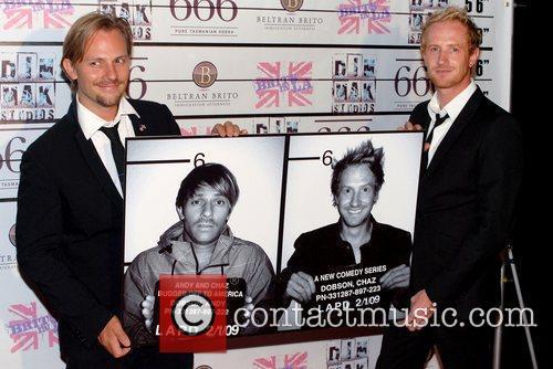 Craig Robert Young and Darren Darnborough 'Andy &...
