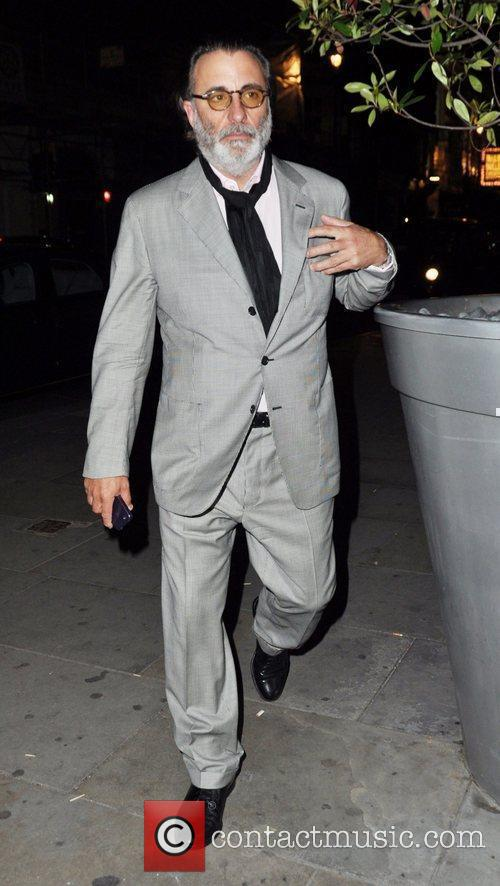 Andy Garcia  out and about in London...