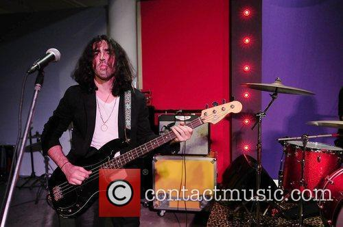 Jessie Kotansky of rock group The Click Clack...