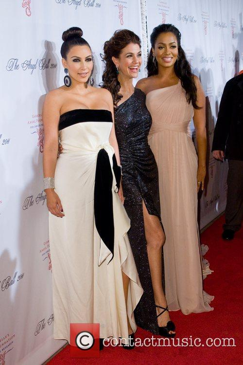 Kim Kardashian and Samantha Harris 11