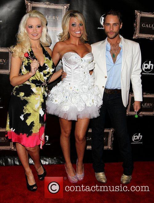 Holly Madison, Angel Porrino, Josh Strickland Angel Porrino...