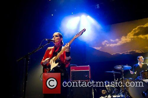 Anna Calvi performing live at the Shepherds Bush...