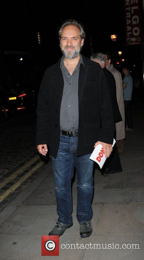 Sam Mendes Anna Christie press night held at...