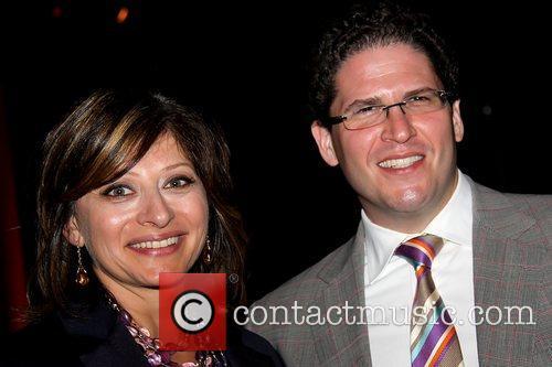 Maria Bartiromo and Jonathan Steinberg Benefit dinner at...