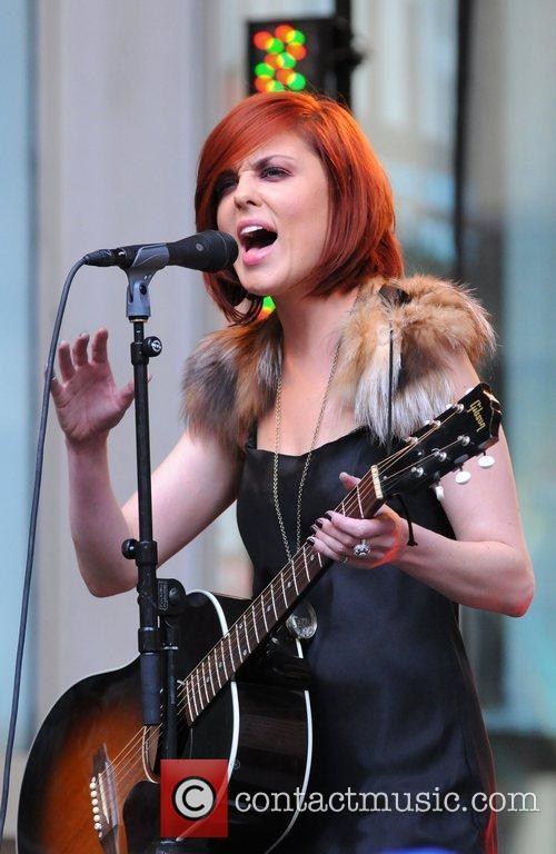 Anna Nalick performs live at 'FOX and Friends'...