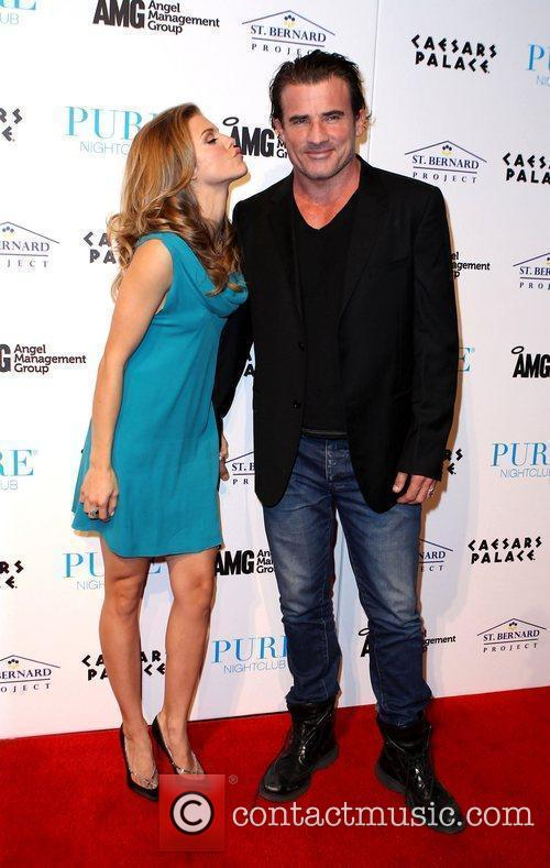 Annalynne Mccord, Dominic Purcell and Pure Nightclub 10