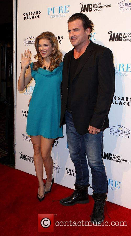 AnnaLynne McCord, Dominic Purcell and Pure Nightclub 5