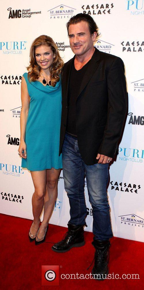 Annalynne Mccord, Dominic Purcell and Pure Nightclub 11