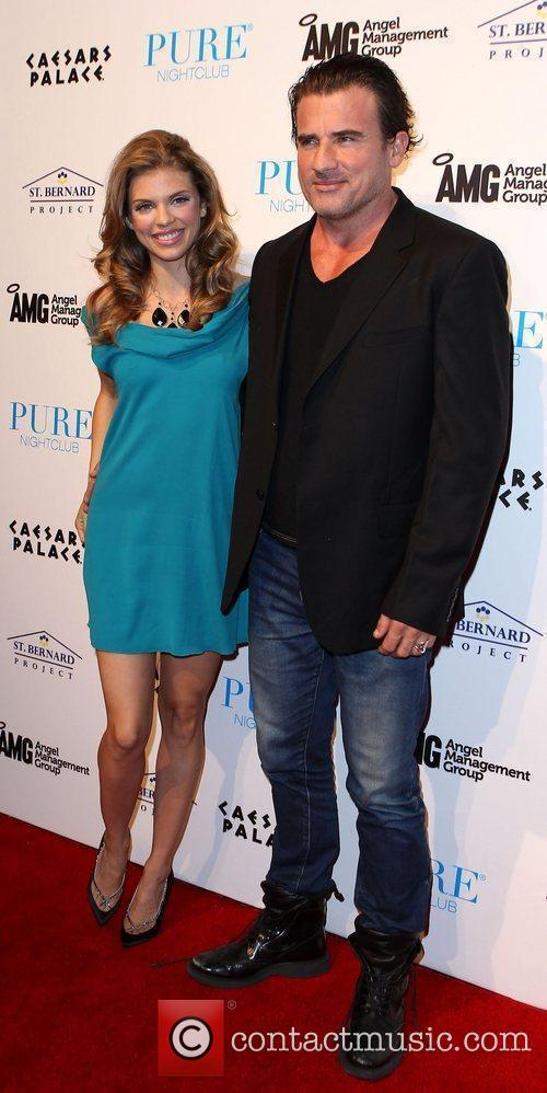 Annalynne Mccord, Dominic Purcell and Pure Nightclub 9