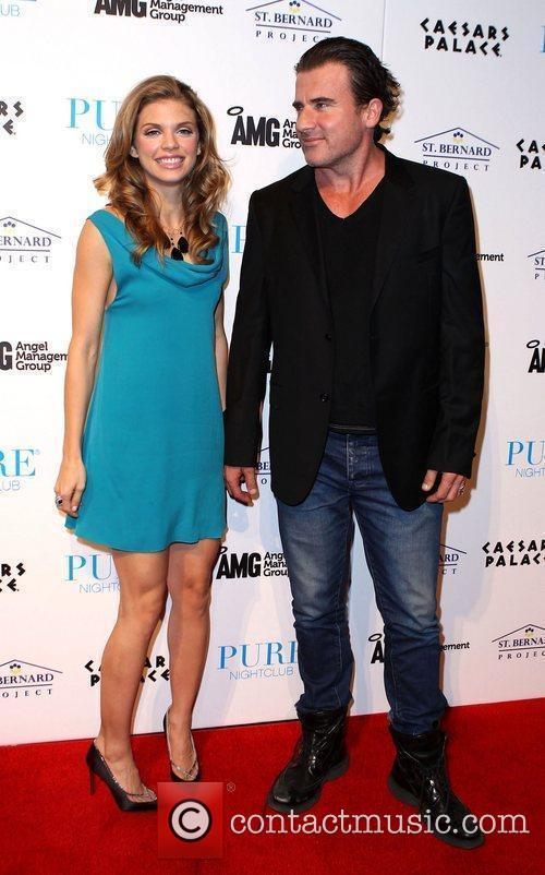 AnnaLynne McCord, Dominic Purcell and Pure Nightclub 6