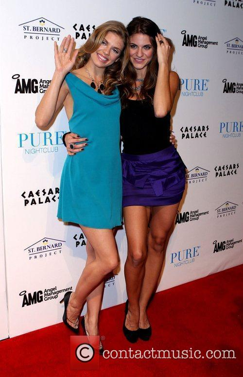 Annalynne Mccord and Pure Nightclub 4