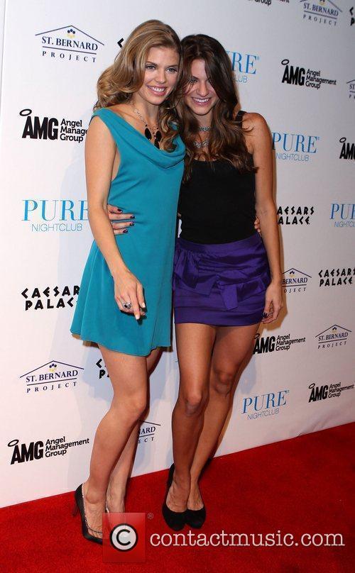 AnnaLynne McCord and Pure Nightclub 1