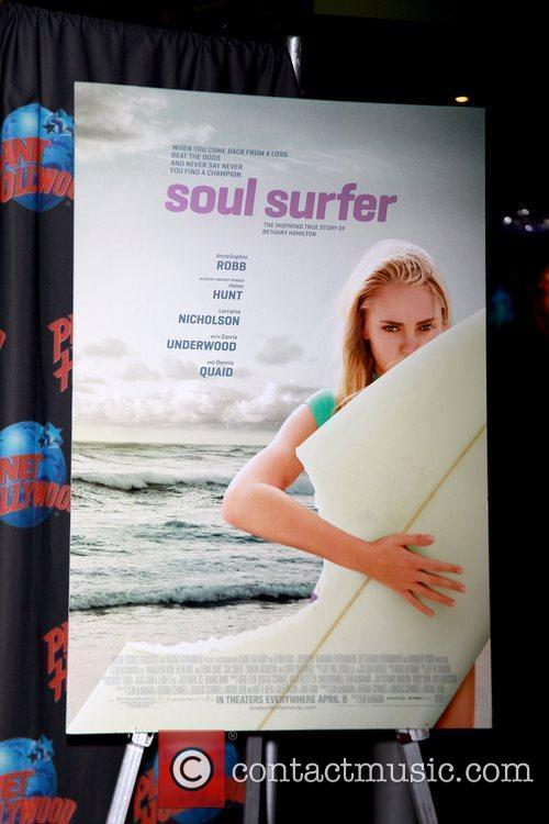 Movie poster for 'Soul Surfer'
