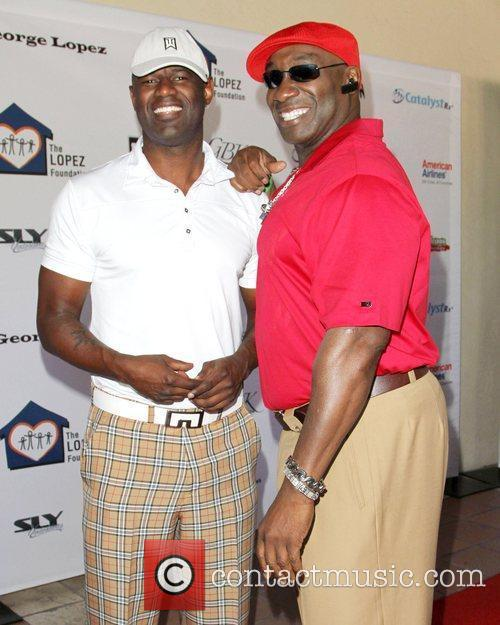 Brian Mcknight and Michael Clarke Duncan 6
