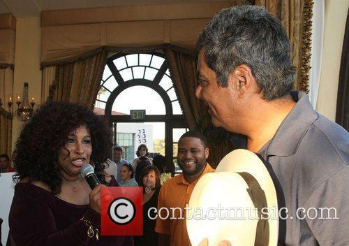 Chaka Khan and George Lopez 11
