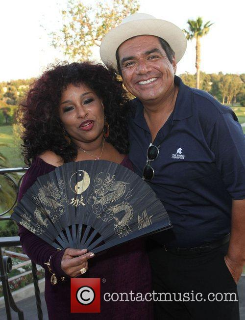 Chaka Khan and George Lopez 1
