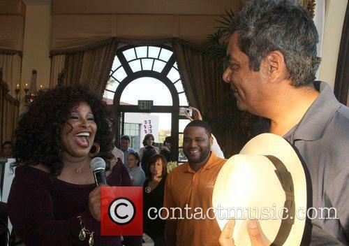 Chaka Khan and George Lopez 8