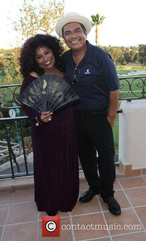 Chaka Khan and George Lopez 7