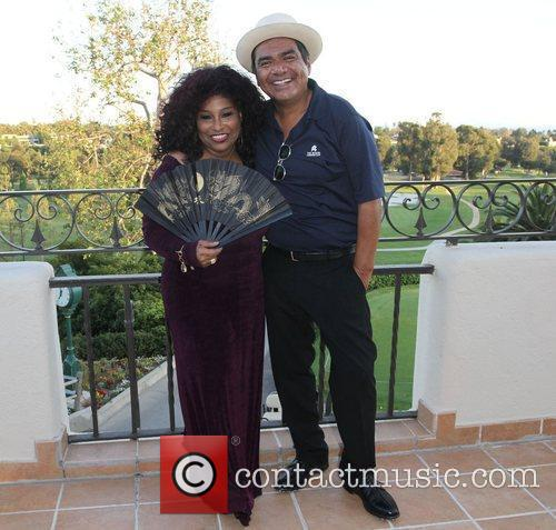 Chaka Khan and George Lopez 6