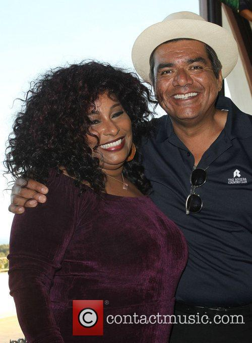 Chaka Khan and George Lopez 5