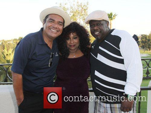 George Lopez, Cedric The Entertainer and Chaka Khan 6