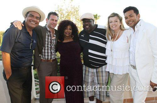 George Lopez, Cedric The Entertainer and Chaka Khan 10