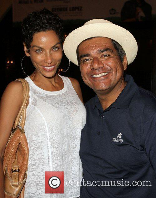 Nicole Murphy and George Lopez 2
