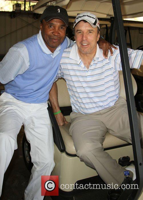 Sugar Ray Leonard and Kevin Nealon 2
