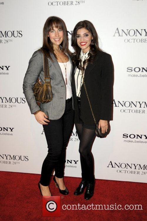 Guest and Amanda Setton 'Anonymous' screening at the...