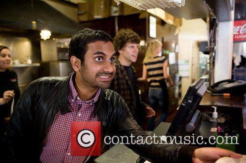Aziz Ansari and Jesse Eisenberg 5