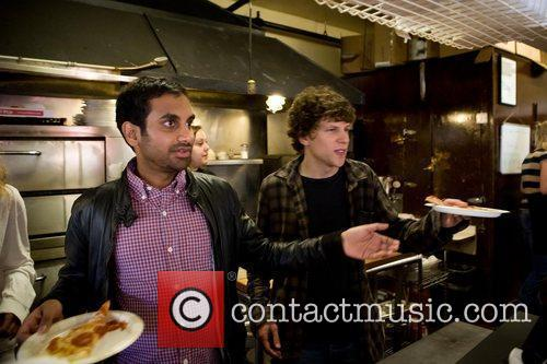 Jesse Eisenberg and Aziz Ansari 14
