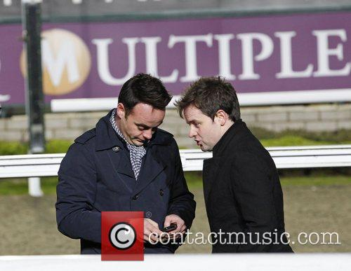 Filming 'Ant & Dec's Push the Button' at...