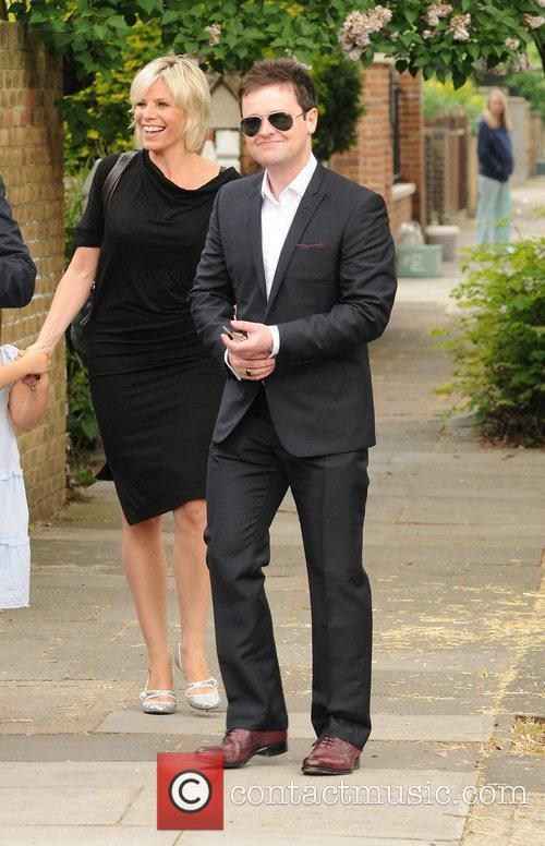 Ant McPartlin and wife Lisa host a royal...