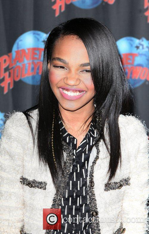 Disney star China Anne McClain attends a promotional...