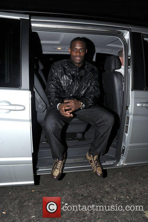 Anthony Morrow Celebrities outside Funky Budha nightclub in...