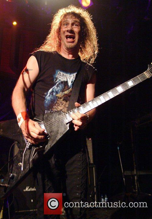 Anvil performing at the O2 Academy Islington