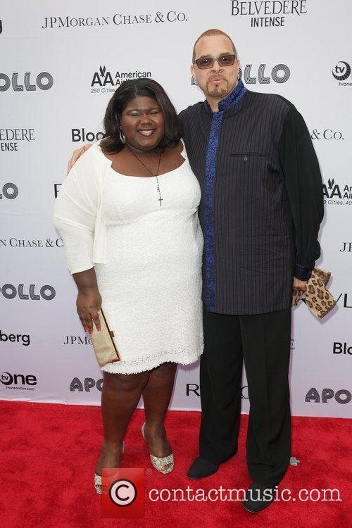 Gabourey Sidibe and Sinbad 1