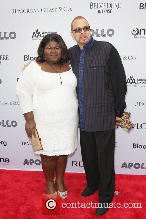 Gabourey Sidibe and Sinbad 4
