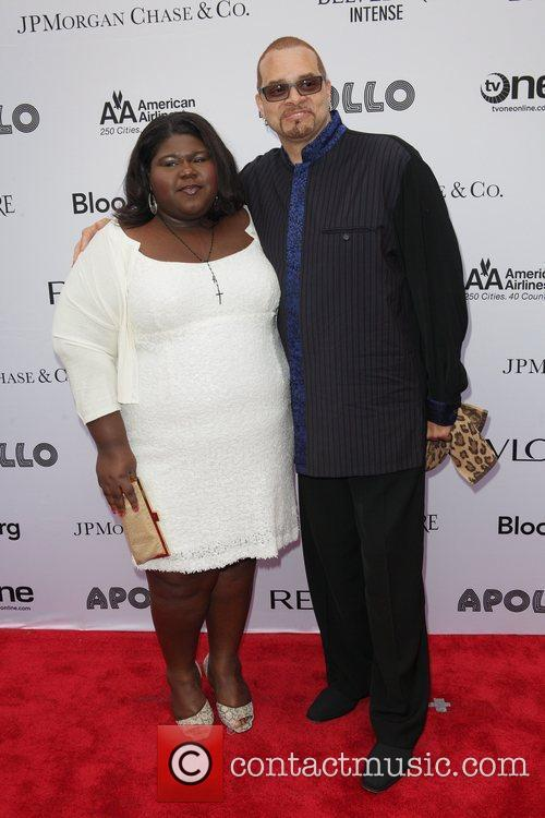 Gabourey Sidibe and Sinbad 2