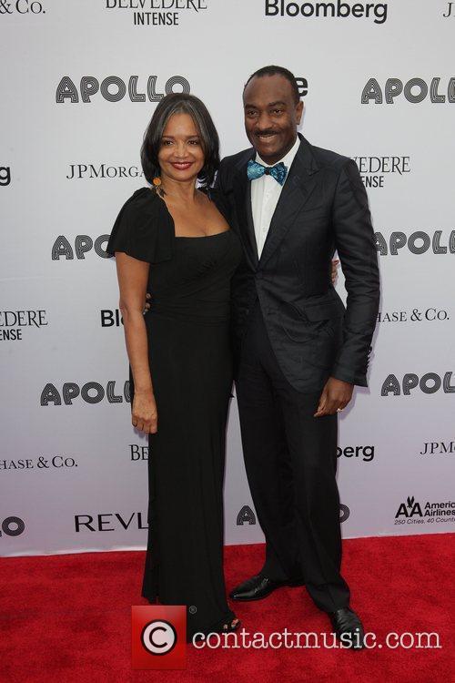 Jonelle Procope, Reggie Van Lee Apollo Theater 2011...
