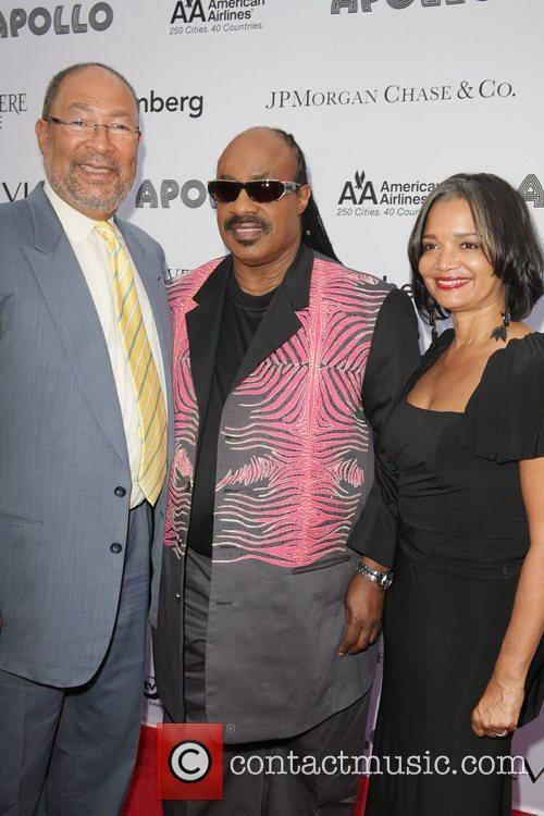 Richard Parsons and Stevie Wonder 2