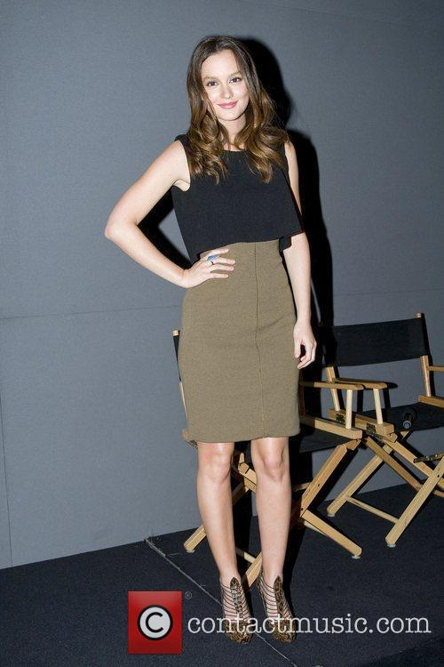 Leighton Meester at the Apple Store Soho New...