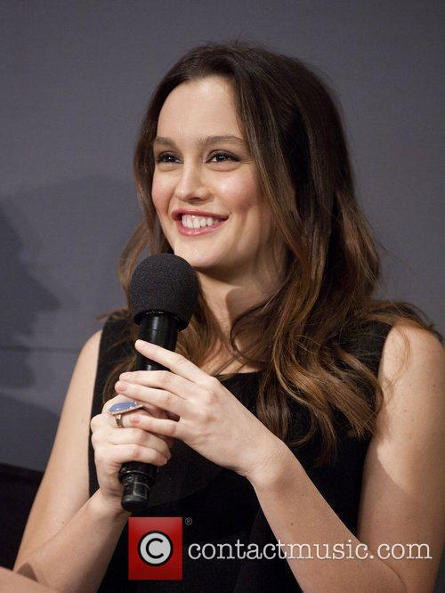 Leighton Meester Meet the Actors featuring the stars...