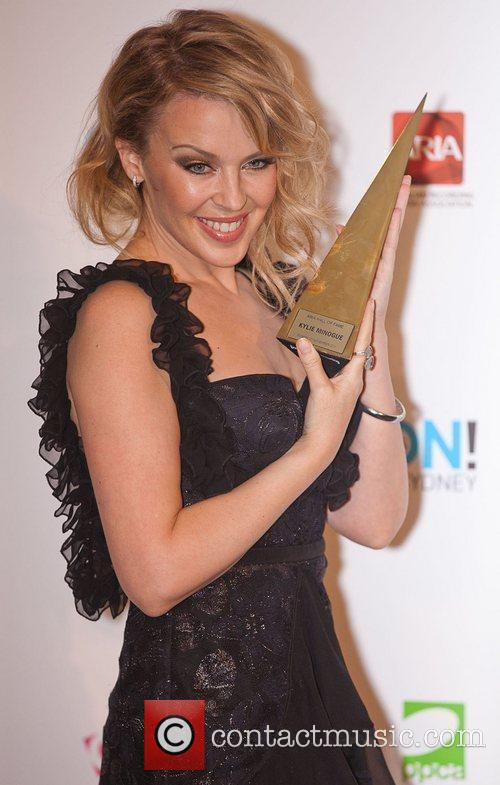 Kylie Minogue The 2011 ARIA awards at Allphones...