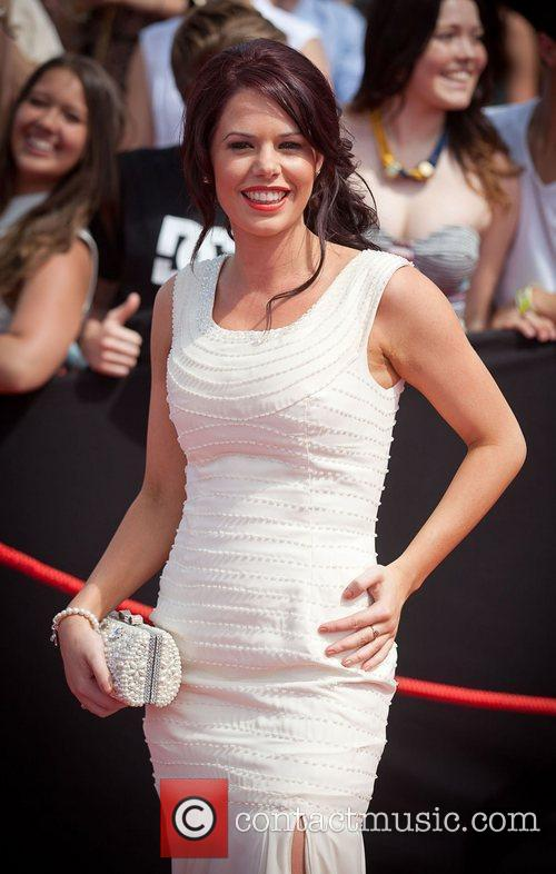 Tori Darke The 2011 ARIA awards at Allphones...