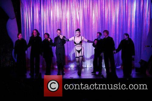 Basil Twist, Joey Arias and cast Opening night...