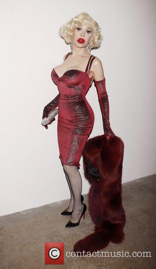 Amanda Lepore Opening night of the Off-Broadway production...